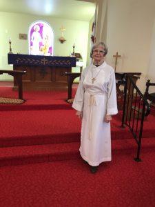 Dianne Lambert Layreader, Organist